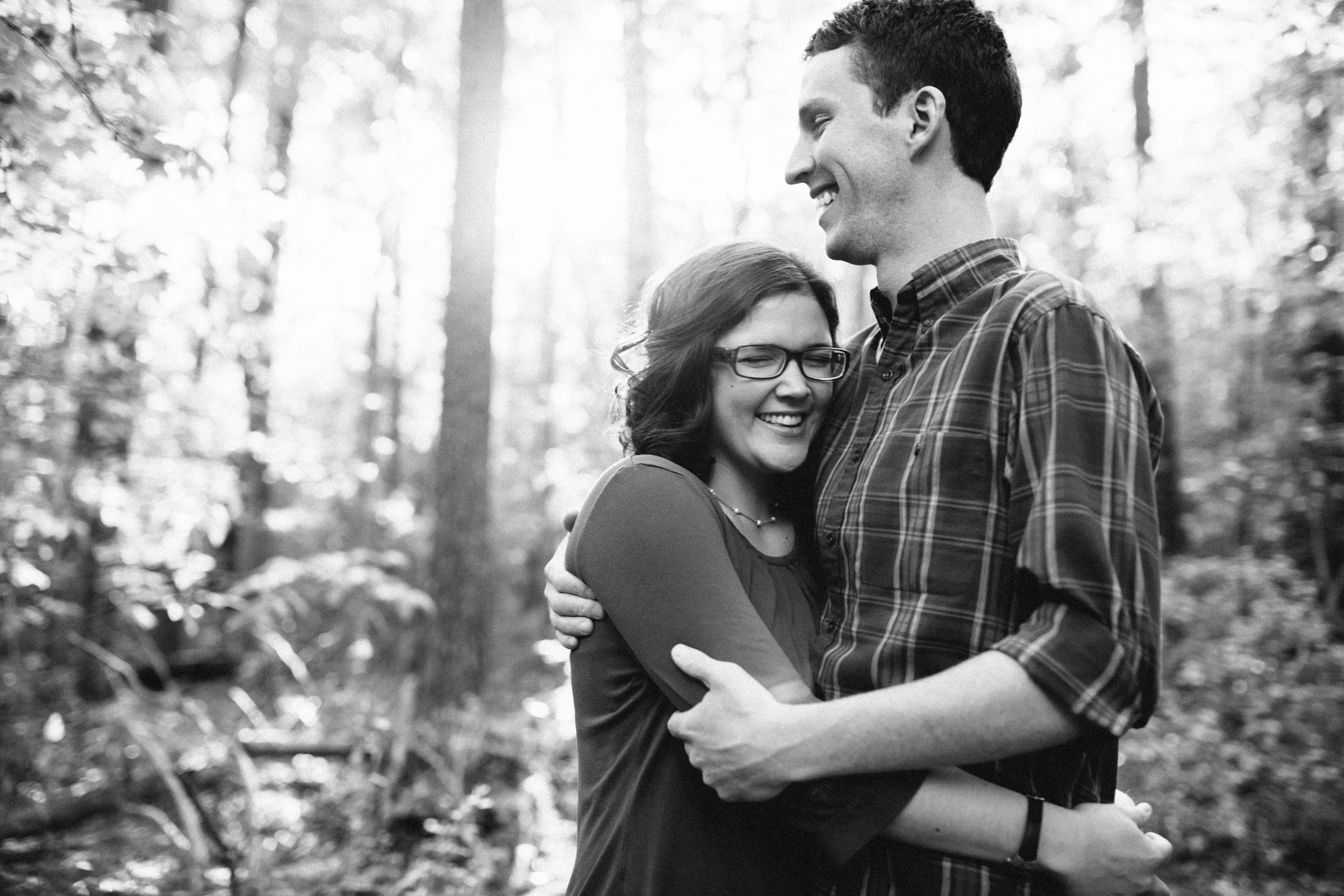 Hannah+Alan Chapel Hill Engagement Photos