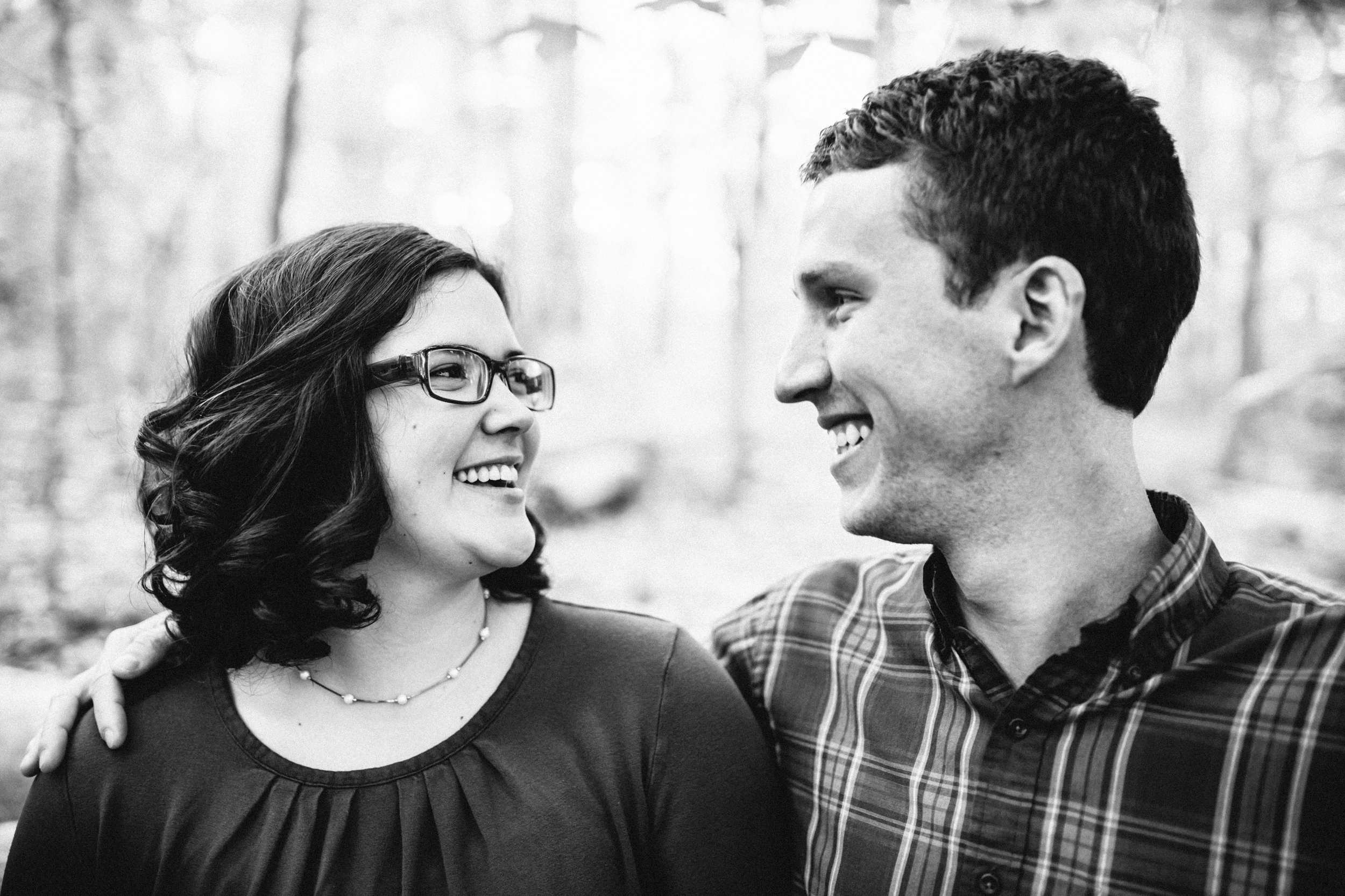 Hannah+Alan Chapel Hill Engagement Photos